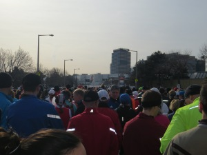 I can almost see the start line from here.