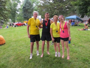A family of medal hoarders
