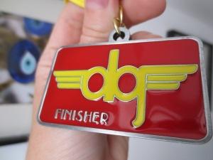 Super cool medal.