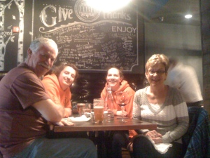 At Hungry Brew Hops Pub, Main St Newmarket