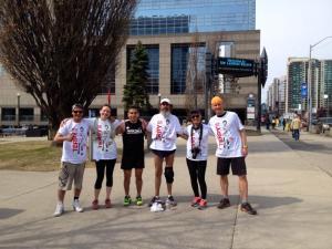 Finished! Anthony, Me, Bill, Sam, Glemena and Cameron